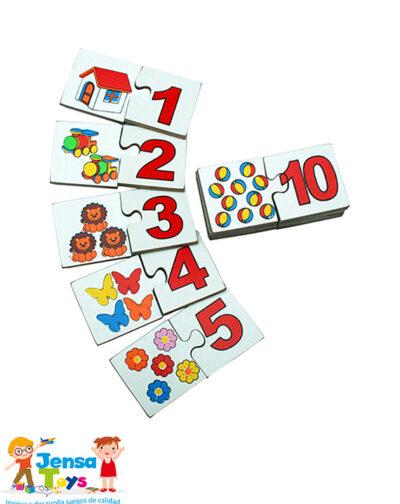 Dominó Figura- Número