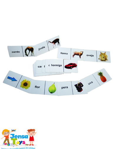 Domino Figura – Palabra x 28 Pzas